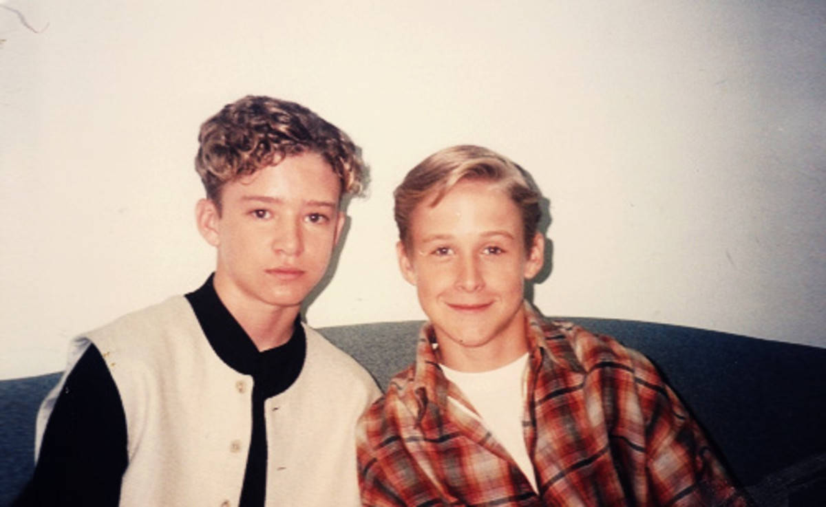 Justin Timberlake & Ryan Gosling on The Mickey Mouse Club.