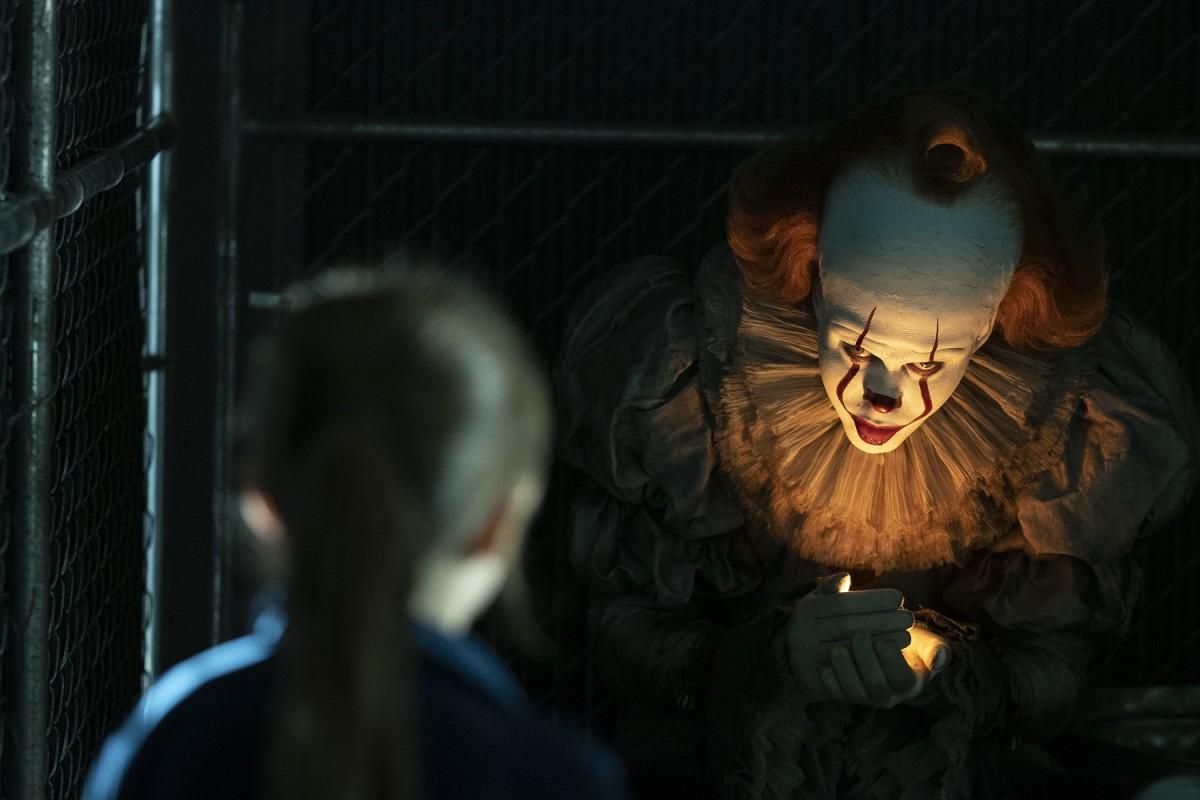 Bill Skarsgard as Pennywise.