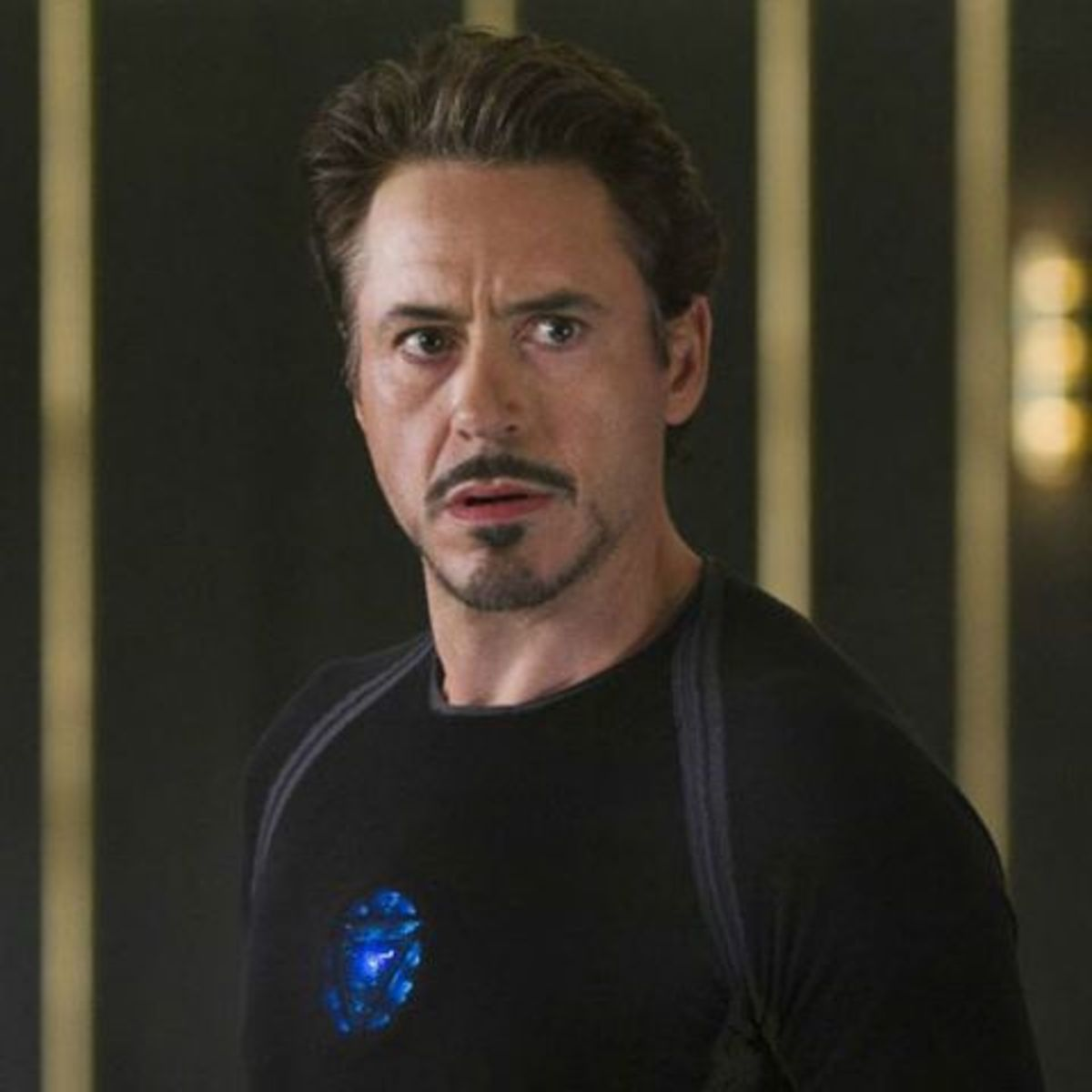 Courtesy of Marvel Studios.  Tony Stark is the epitome of the cultural shift in how we see superheroes.  No super strength without his suit, handicapped by a heart  issue, and still brazenly confident.