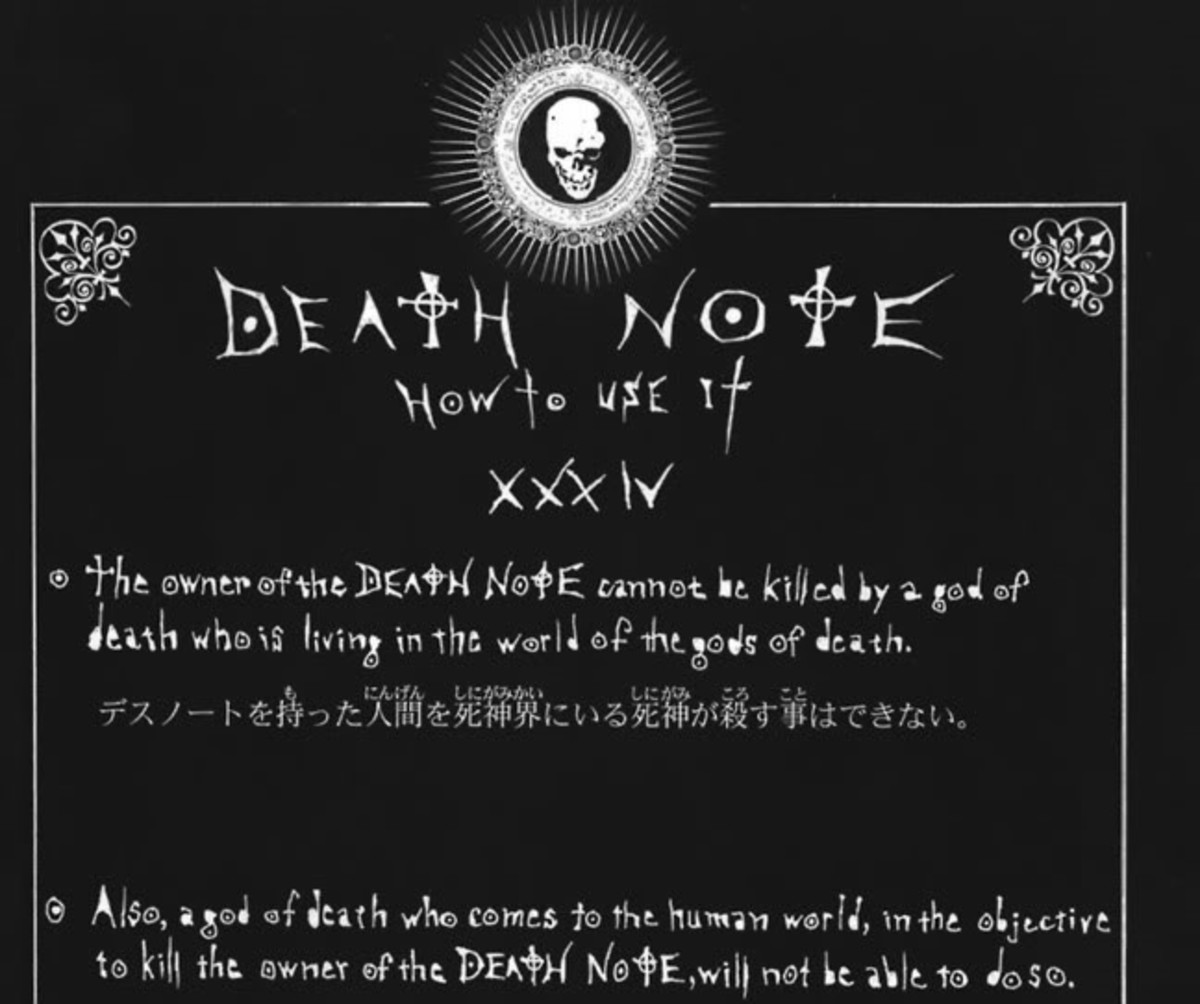 Shinigami can't always kill Death Note owners