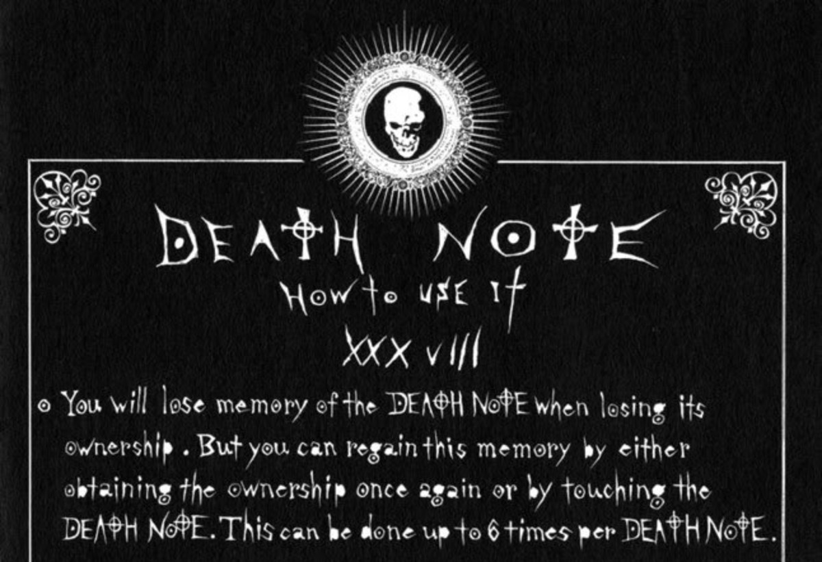 The Death Note only returns memories six times after regaining ownership