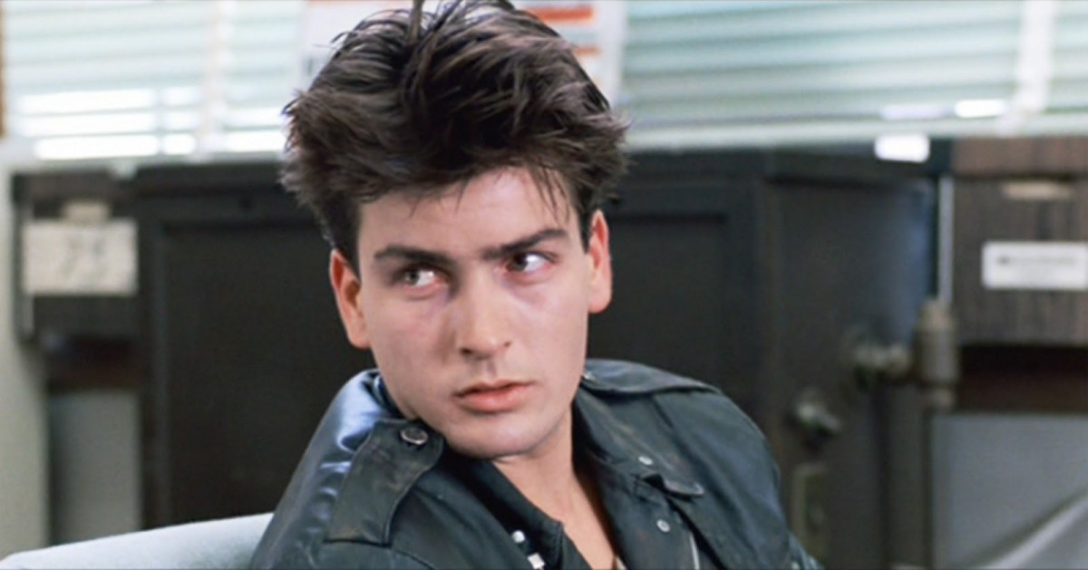 Charlie Sheen in Ferris Bueller's Day Off.