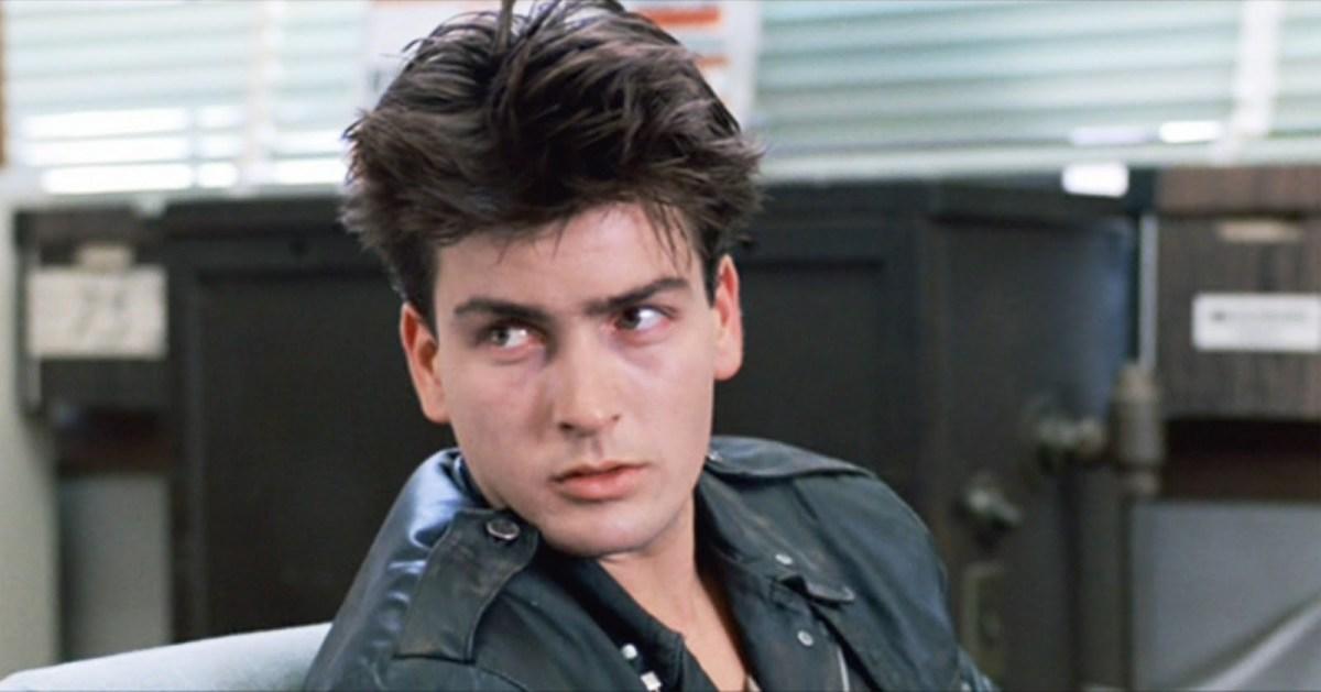 Charlie Sheen in Ferris Bueller's Day Off.