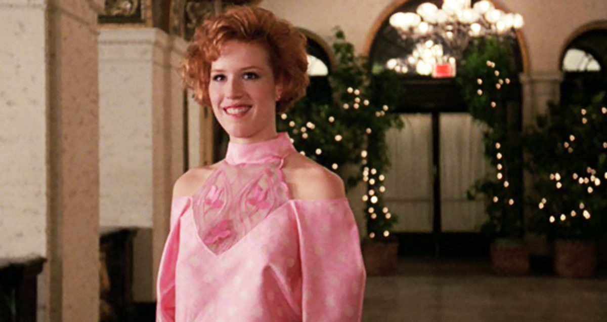 Molly Ringwald in Pretty in Pink.