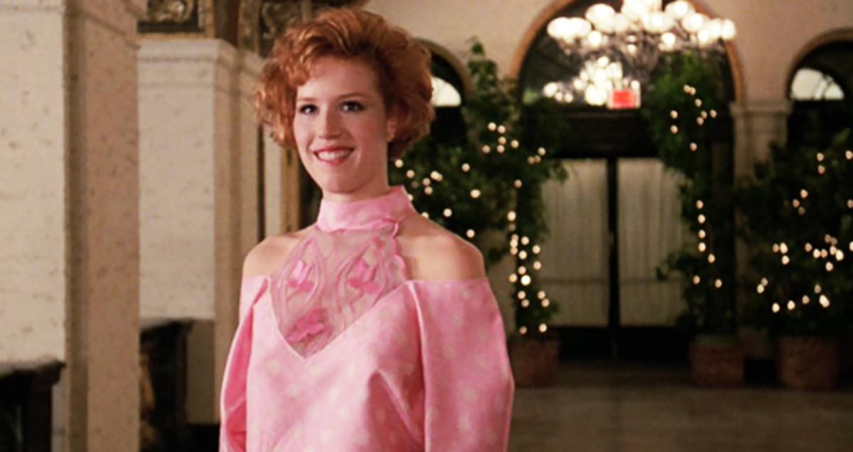 Molly Ringwald in Pretty in Pink.