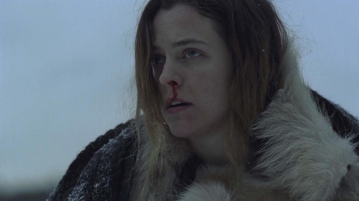 Riley Keough as Grace.