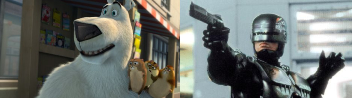 I'd give anything to see Robo shoot that damn bear in the back of the head...