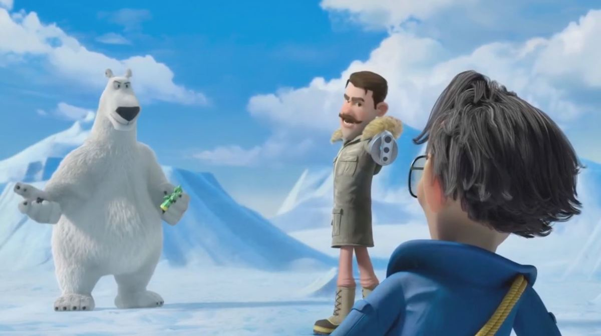 And the gun showdown in 'Norm of the North 3'.