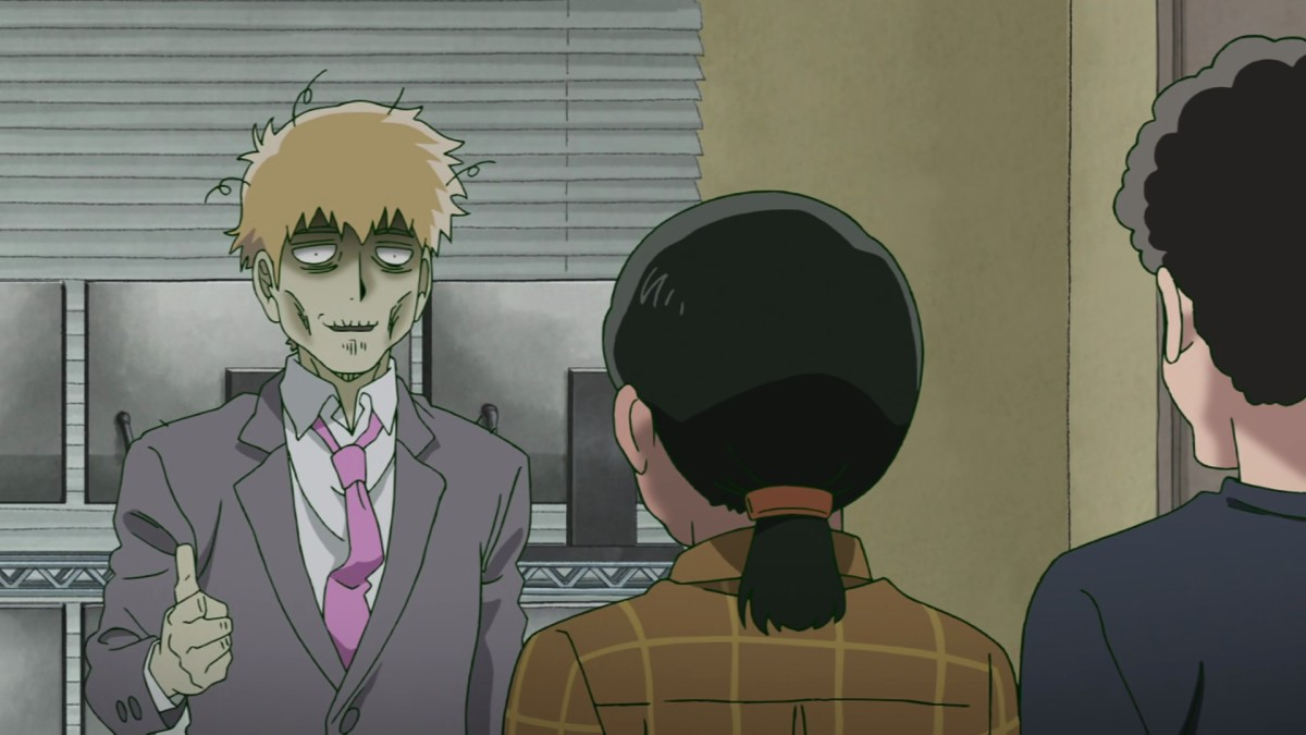 Reigen will ensure any job a client asks for is done, no matter how enervating!