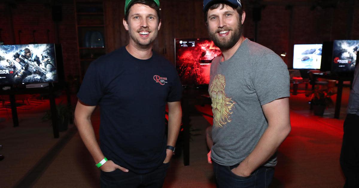 Twin brothers Jon and Dan