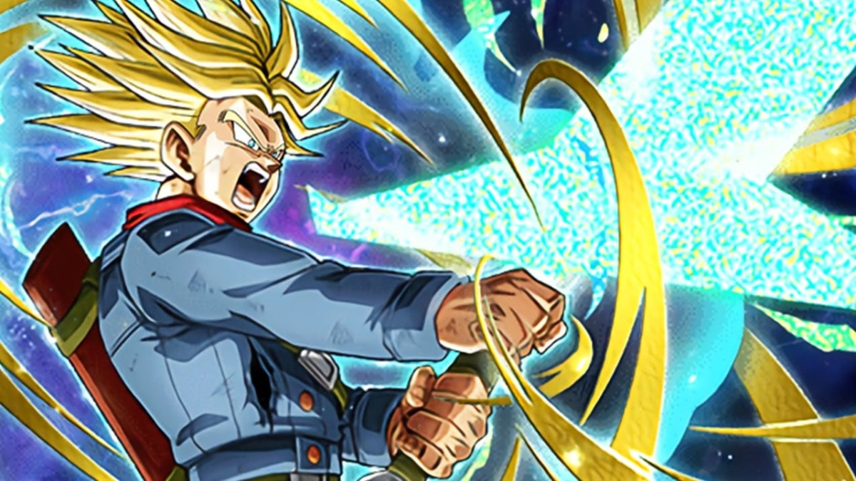 Future Trunks Super Saiyan Rage