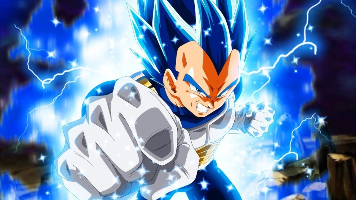 Super Saiyan Blue Evolution Vegeta