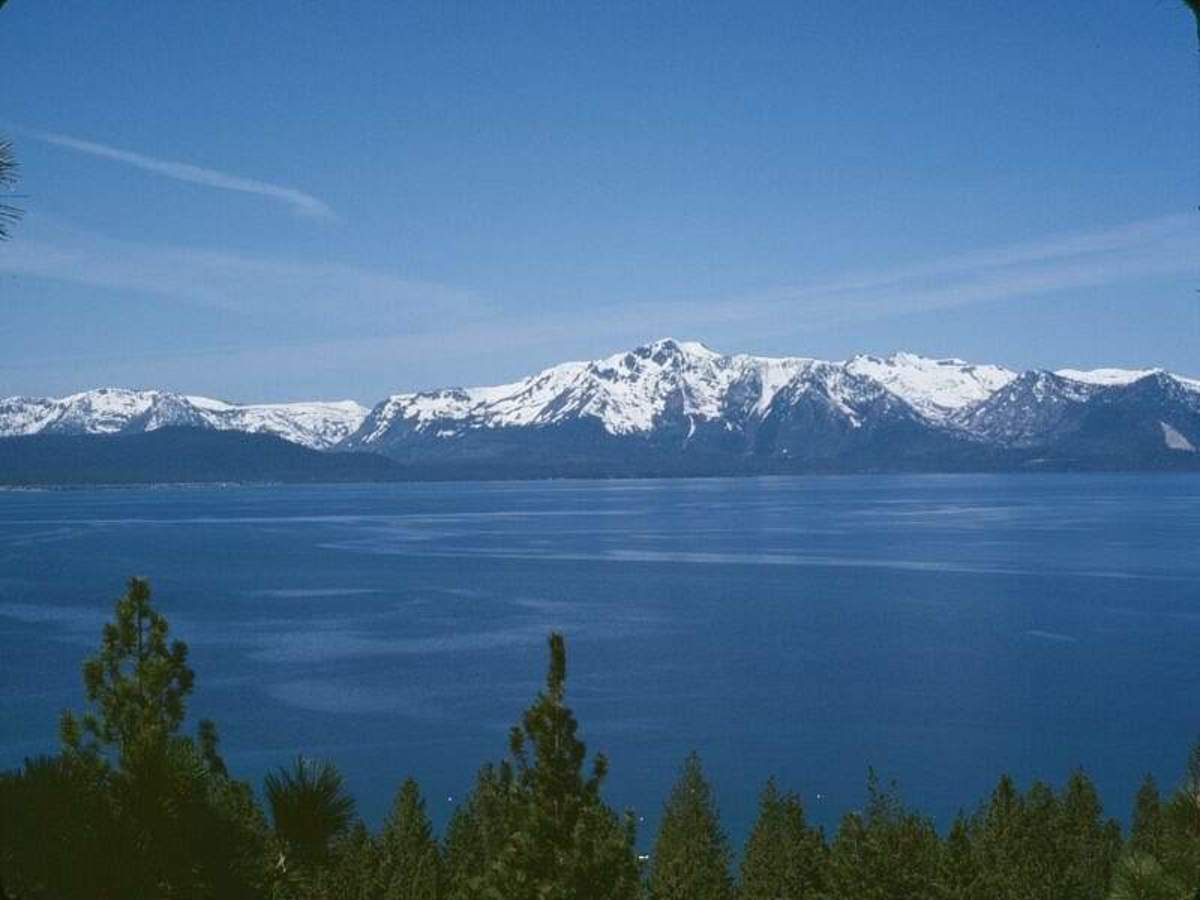 Lake Tahoe is known for its beautiful waters