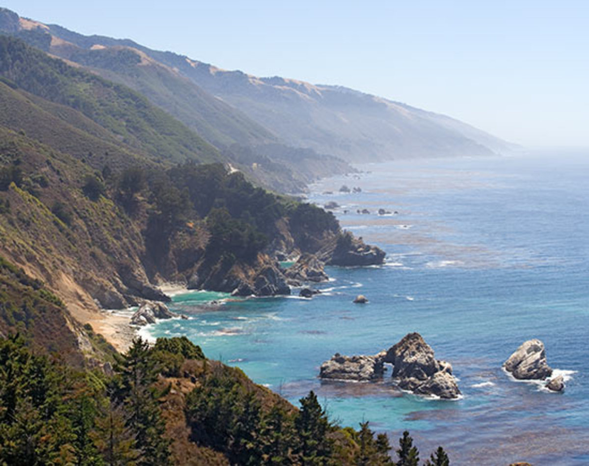 The Pacific Coast Highway, aka Highway 1