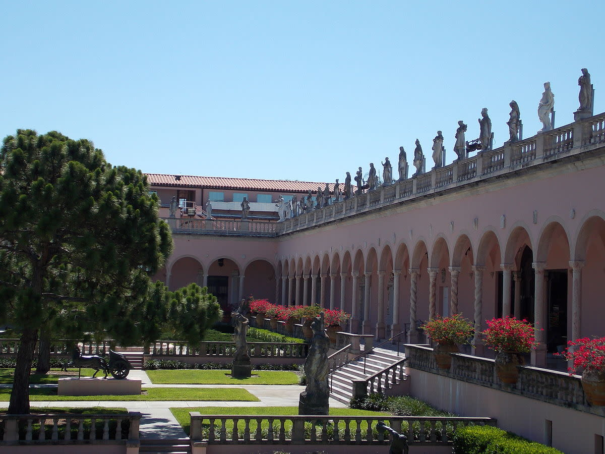 Ringling Museum of Art Courtyard