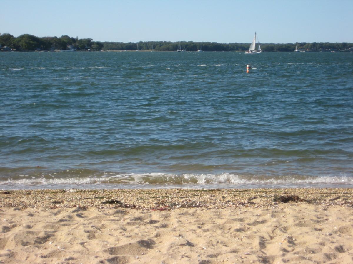 Crescent Beach, Shelter Island New York