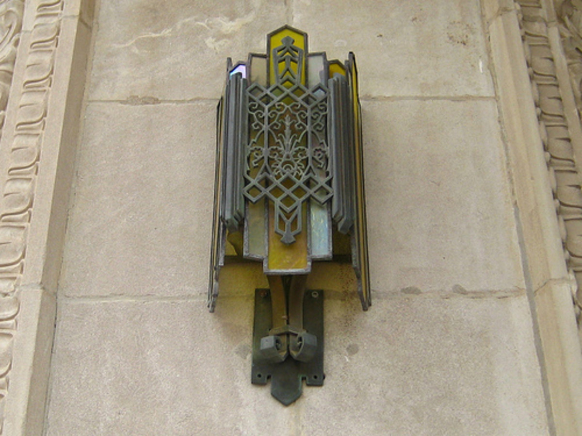 Oklahoma Natural Gas Building, Downtown Tulsa - Zigzag Art Deco Style architecture