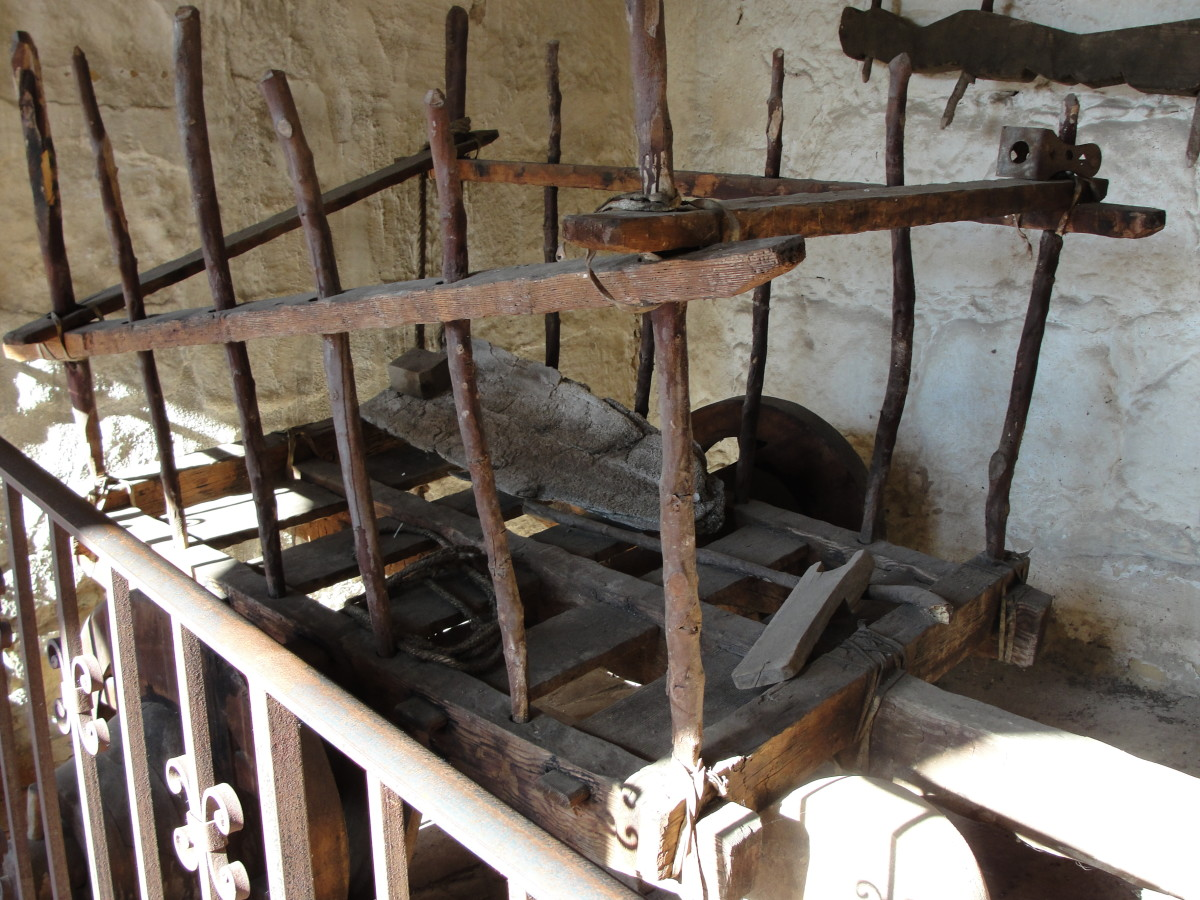 Tools used at the mission