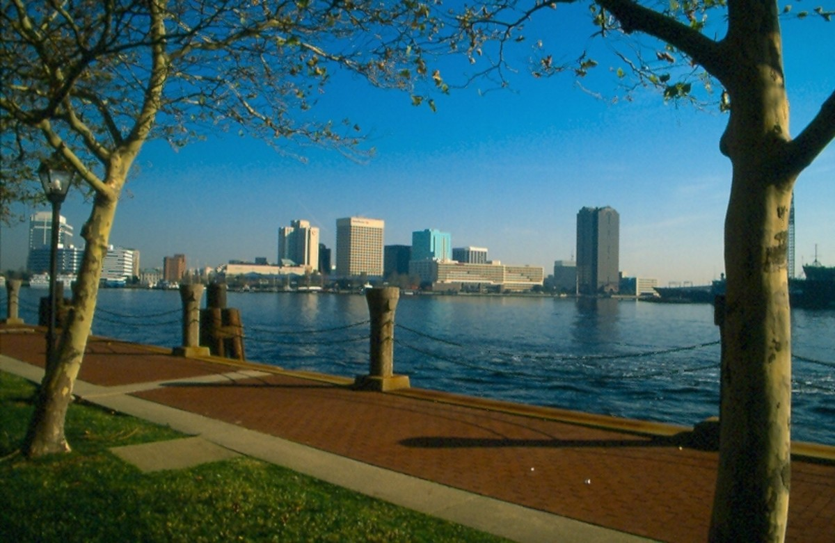 Norfolk form Portsmouth, Virginia.