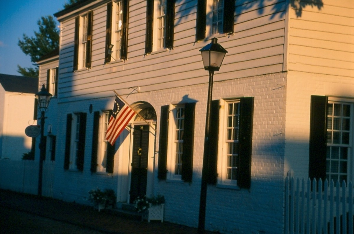 Colonial Era Home. Old Towne, Portsmouth.