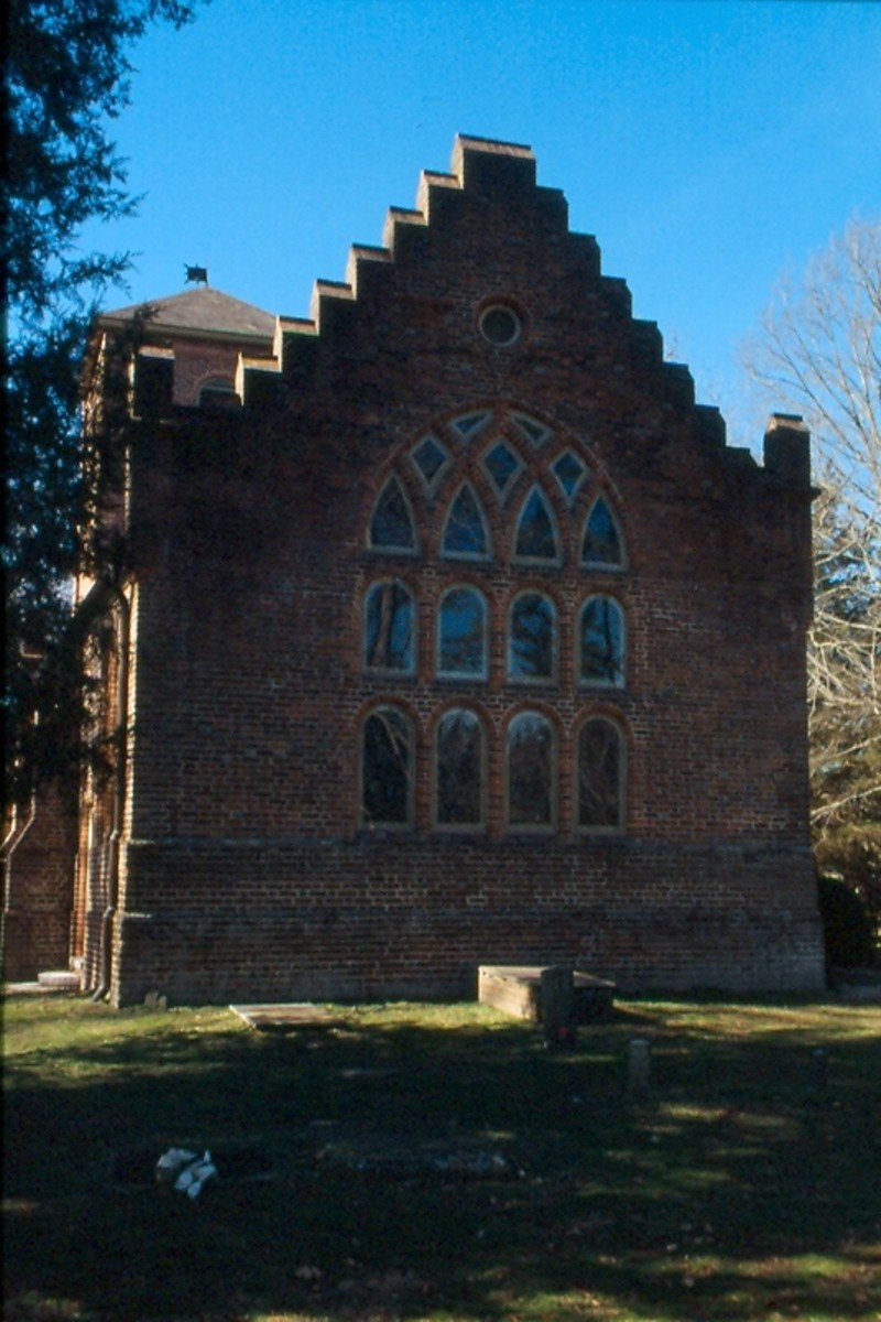 St. Lukes, said to be the oldest remaining church in the 13 original colonies.