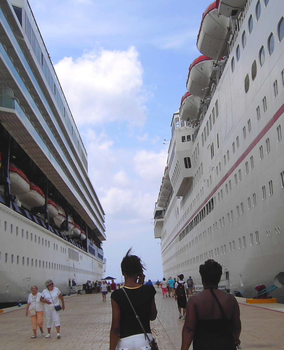 About to board the Celebrity Century, May, 2010