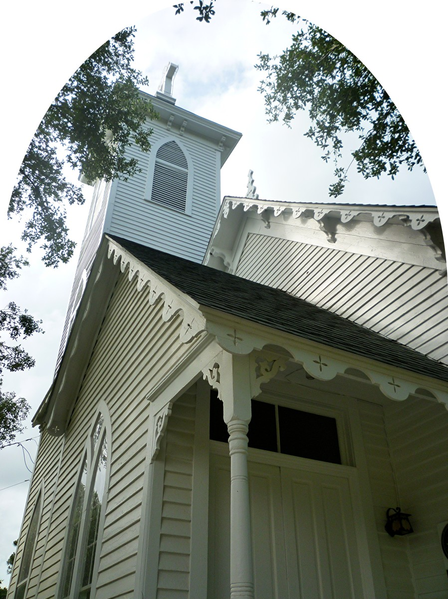 The Church of the Epiphany in Calvert, Texas