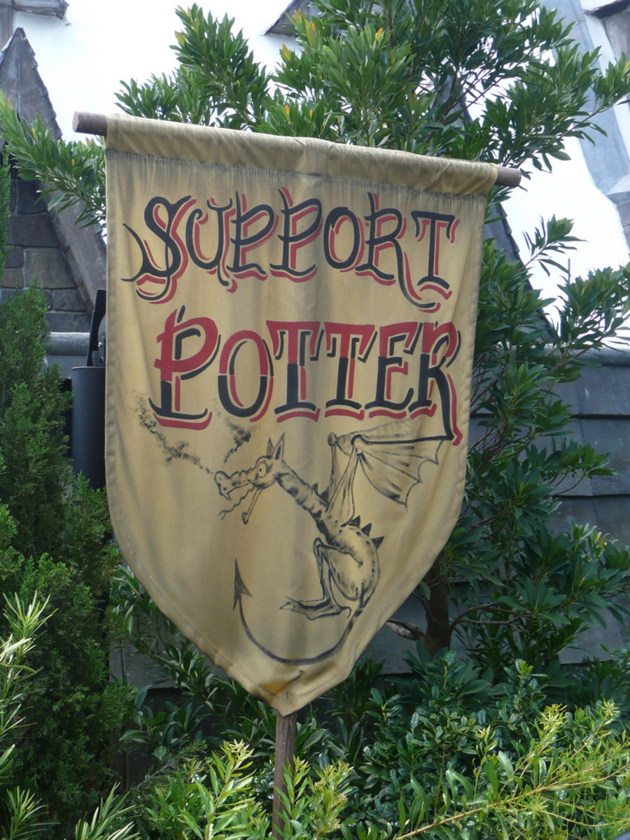 Support Harry Potter!