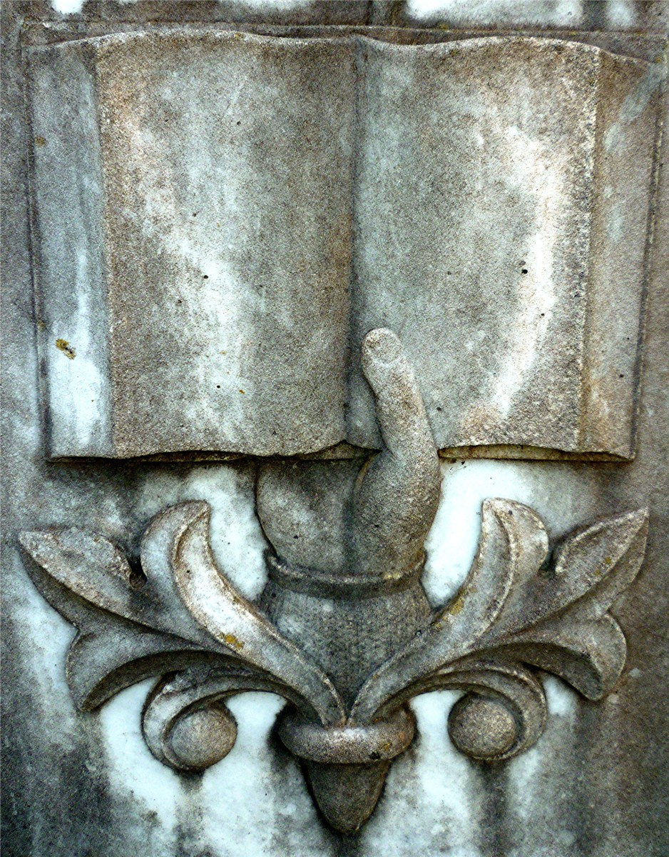 Detail on monument