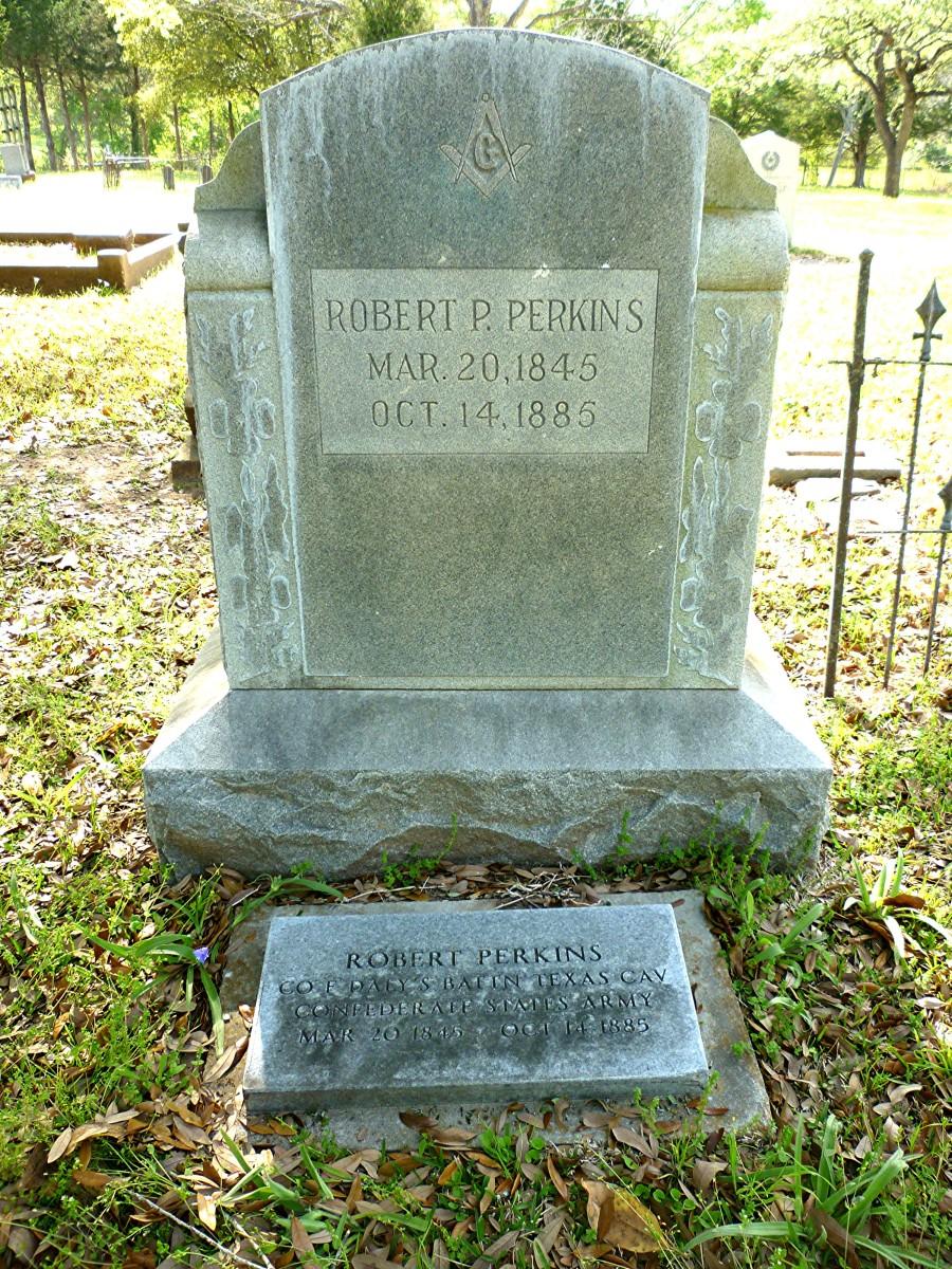 Confederate gravestones in Masonic Cemetery Chappell Hill, TX