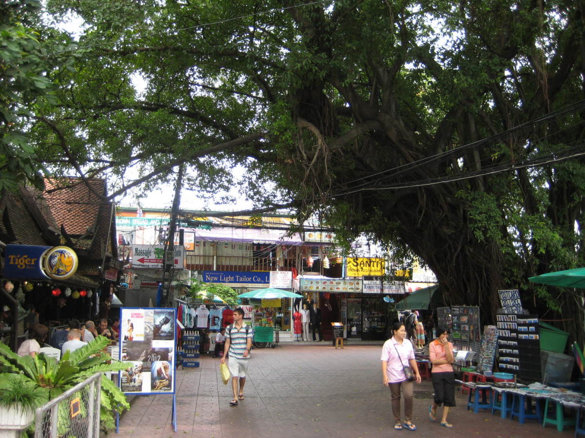 West end of Soi Rambuttri
