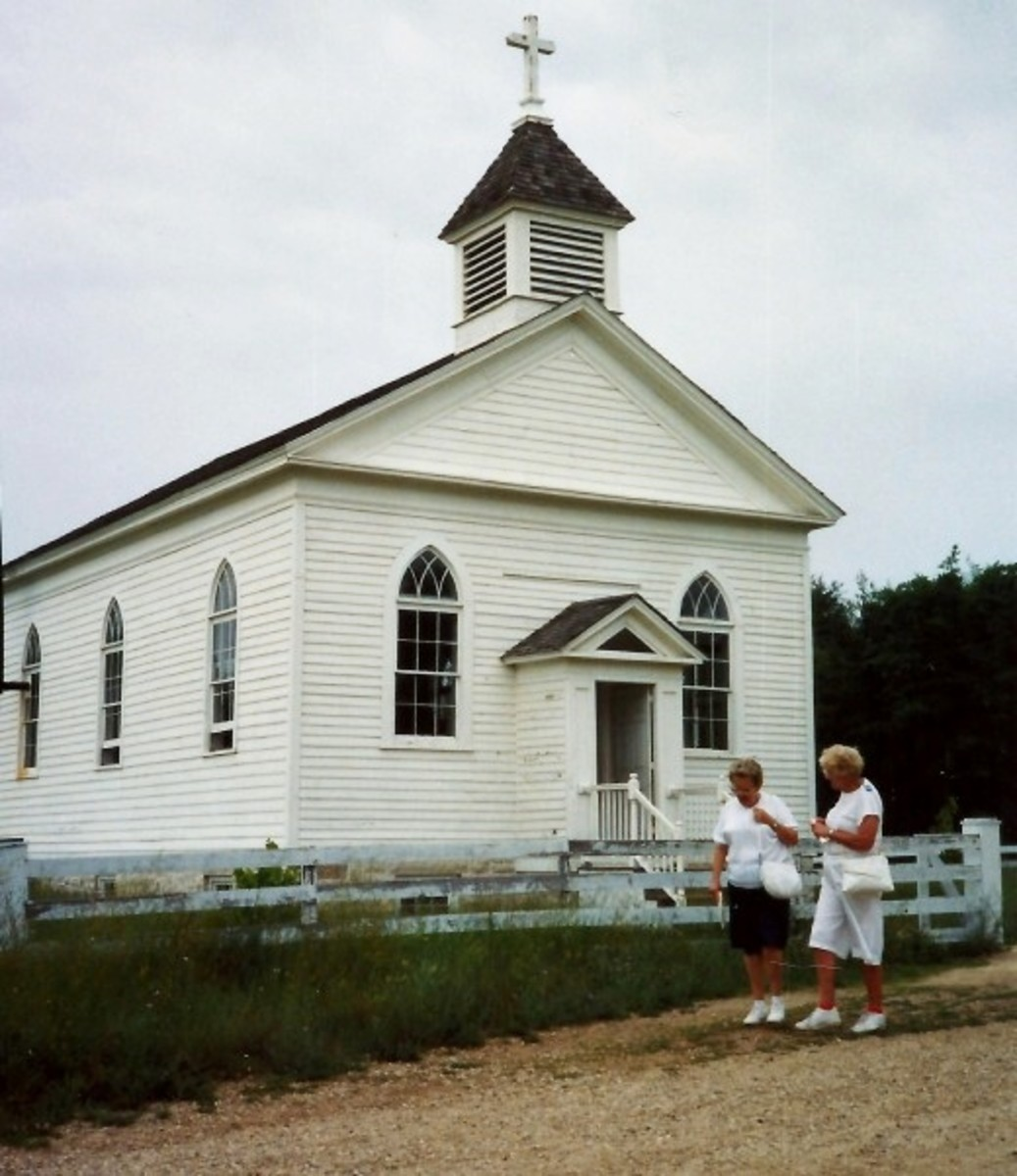 St. Peter's Church at Old World Wisconsin