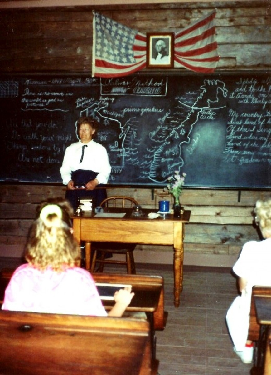 Raspberry School at Old World Wisconsin