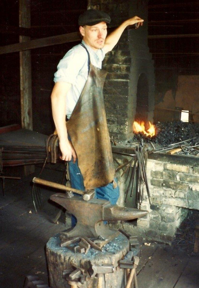 The Grotelueschen Blacksmith Shop in Old World Wisconsin
