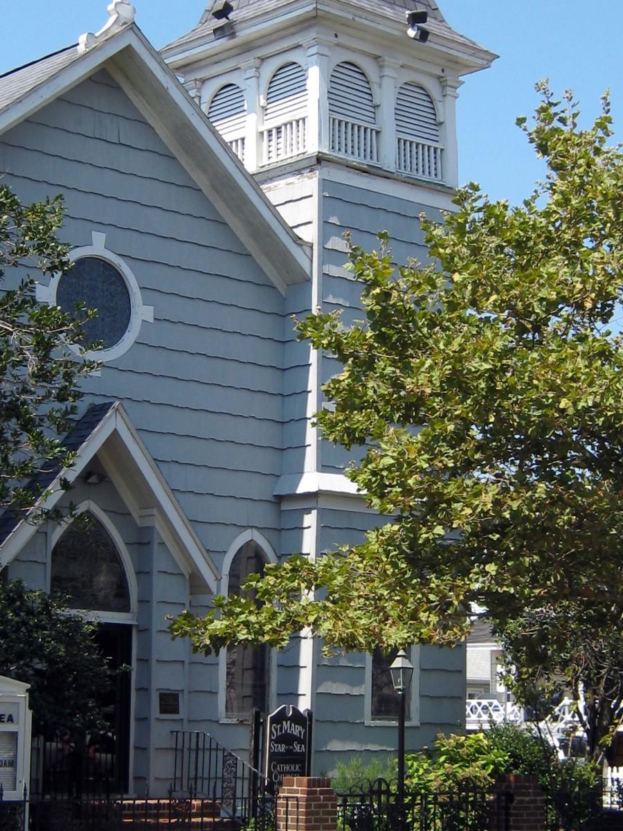 Saint Mary's Star of the Sea Catholic Church built in 1878