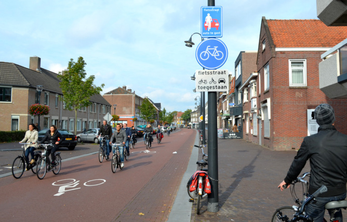 Everyone cycles in Holland! Make sure you get yourself a bike.