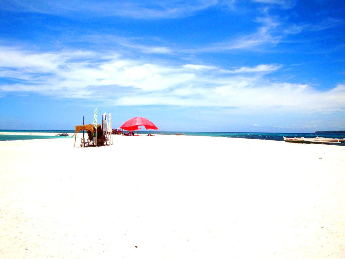 White Island at Camiguin Island.