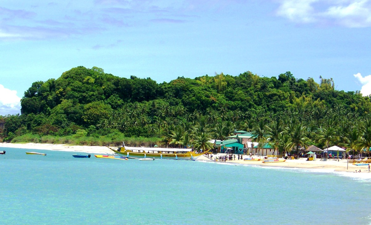 White Beach in Puerto Galera.