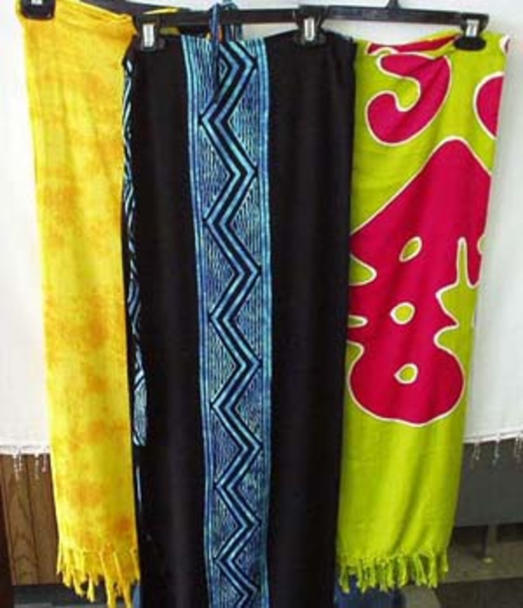 A Sarong is So Right!