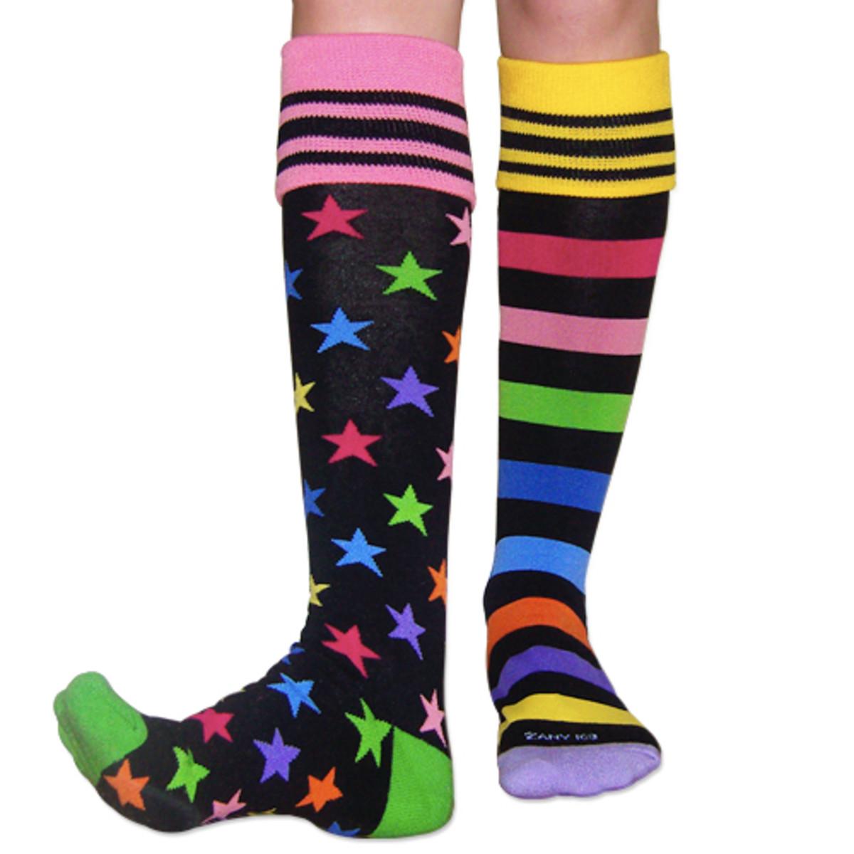 Socks are helpful!