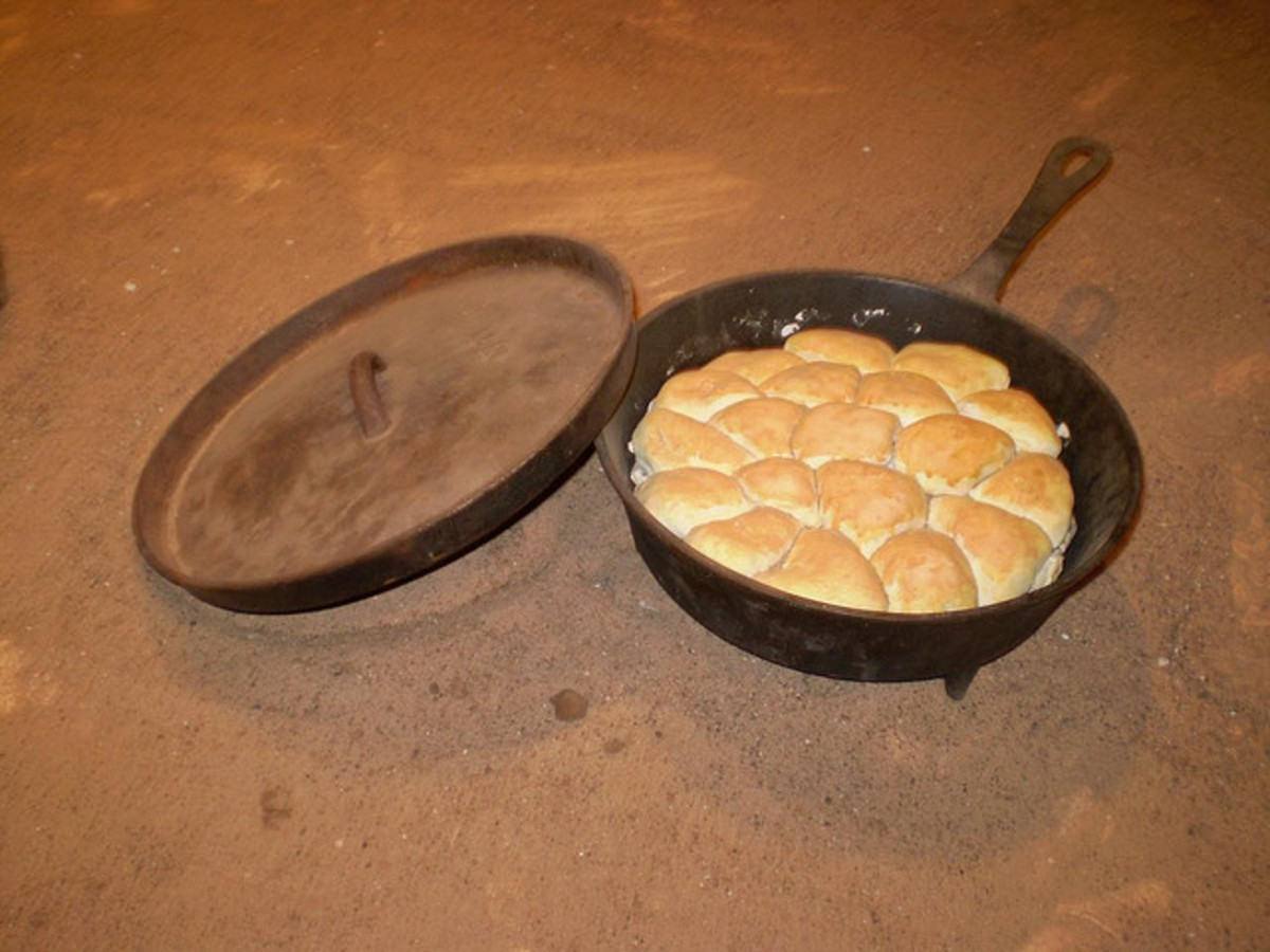 Campfire Biscuits- my most unique festival food