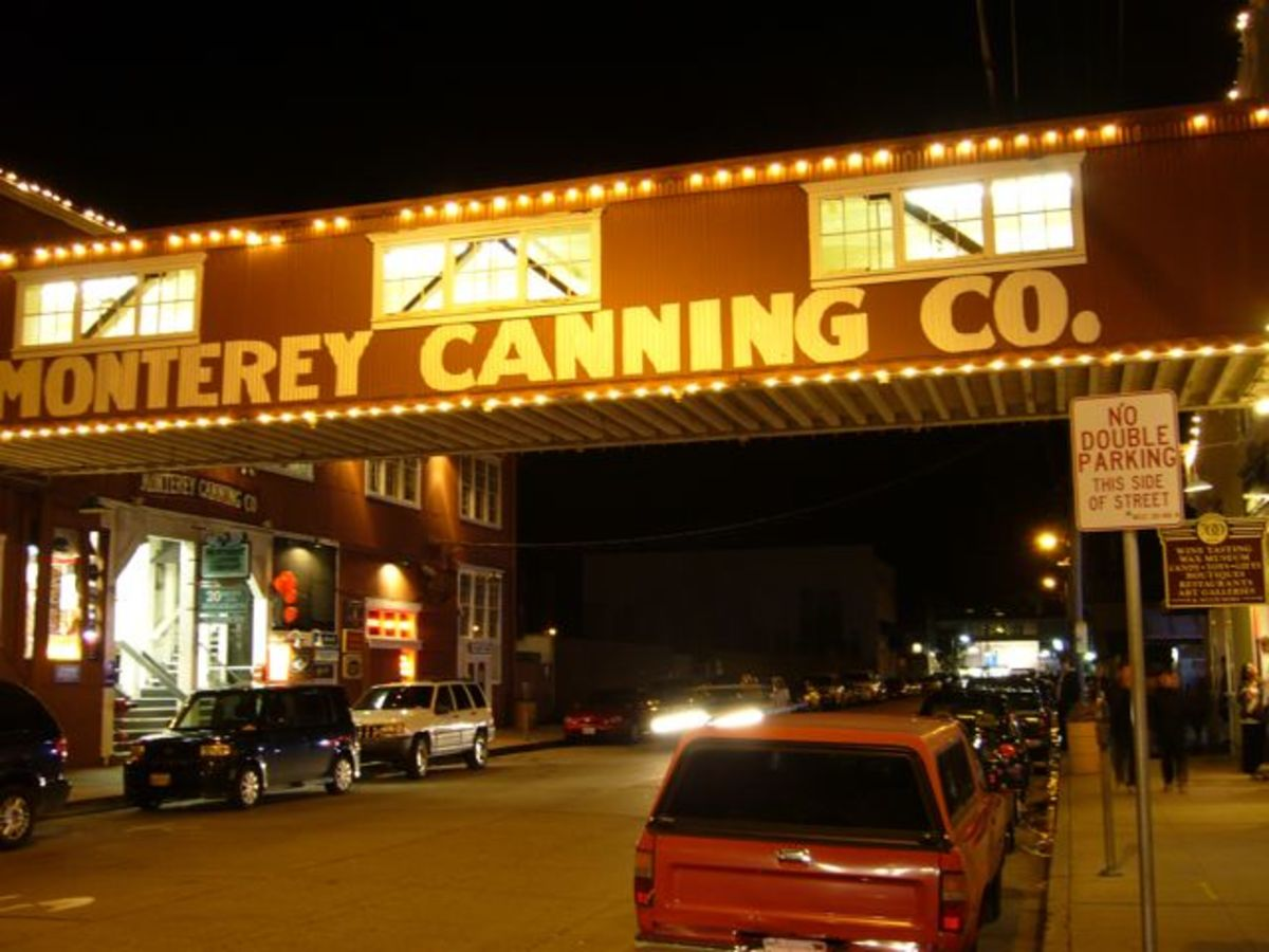 Cannery Row.