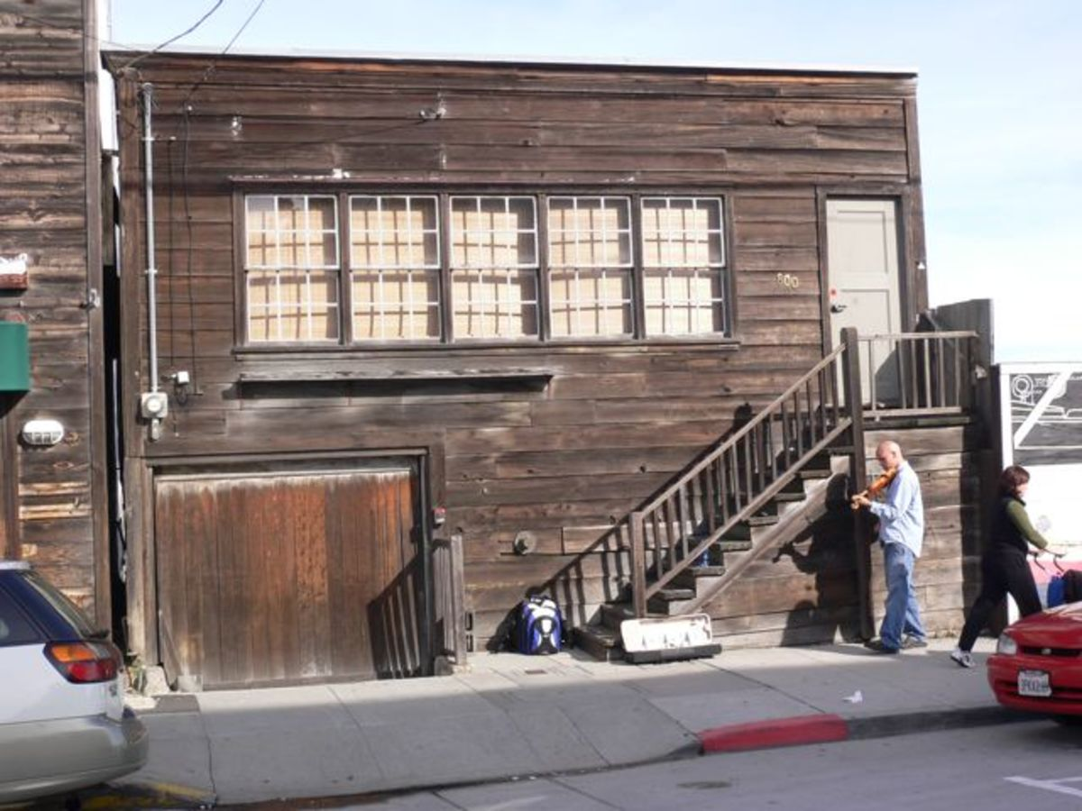 Doc Rickett's Lab - Cannery Row