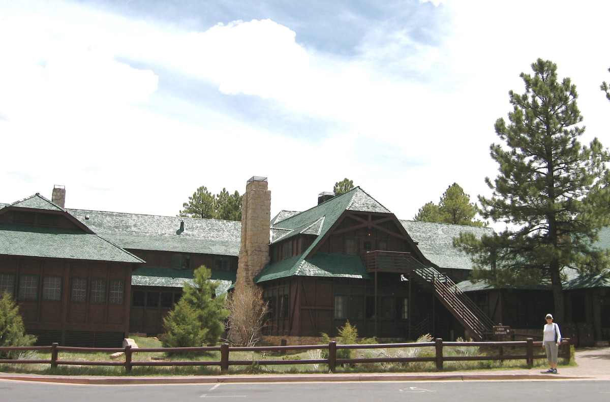 Bryce Canyon Lodge.