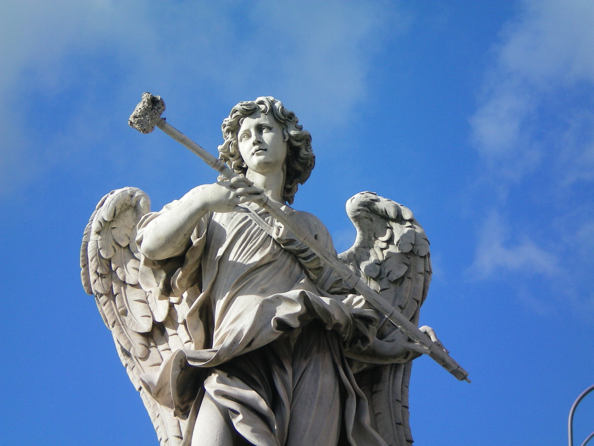 One of Rome's eternal angels (c) A. Harrison