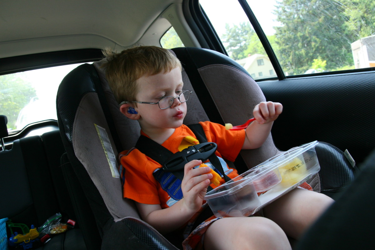 Snacking on the road