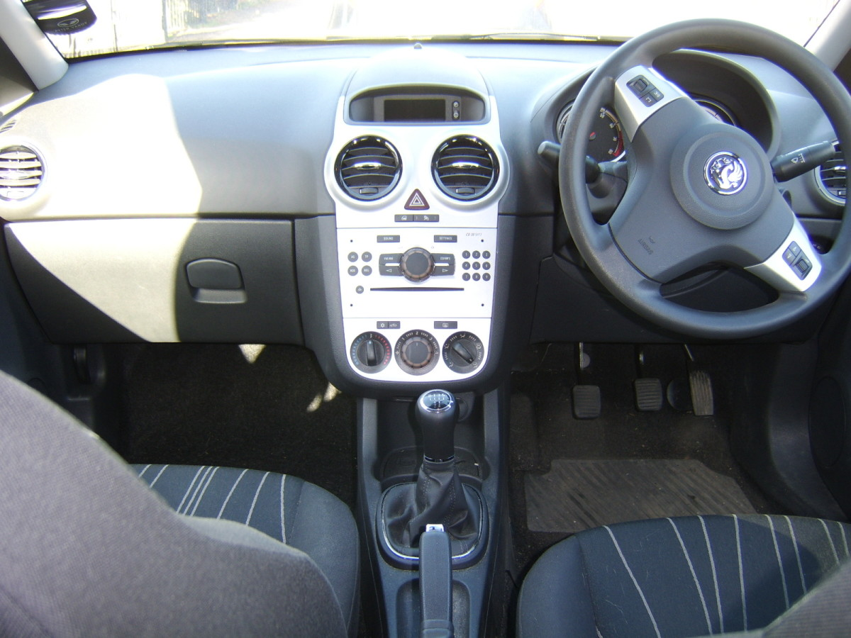 The steering wheel may be on the opposite side of the car in Scotland from what you are used to