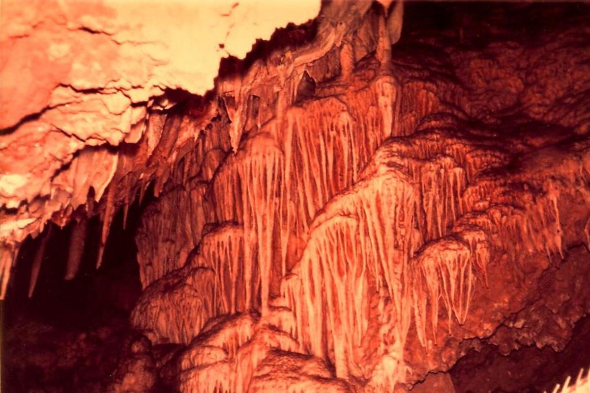 Inside Ngilgi Cave