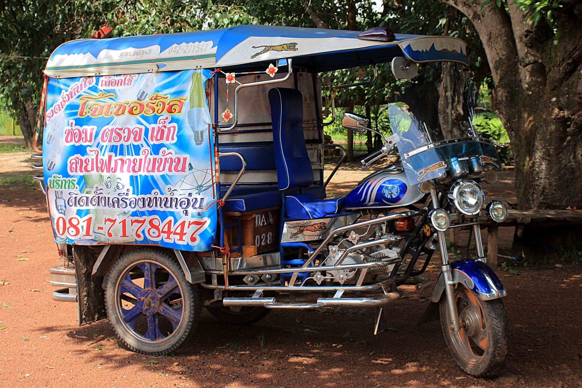 Colourful tuk-tuk