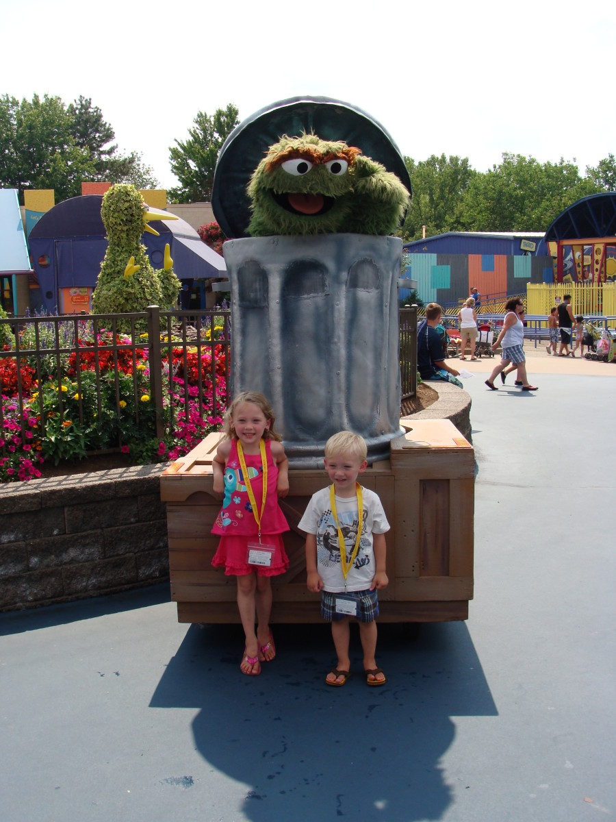 Meet and Greet with Oscar the Grouch